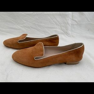 Vero Cuoio Cosmoparis Suede Leather Flat Shoes 6.5